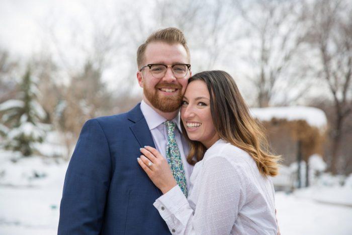 Wedding Proposal Ideas in Red Butte Gardens