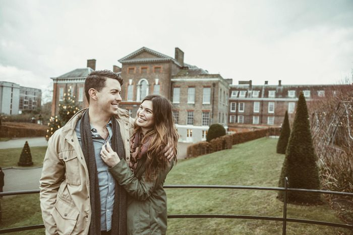 Wedding Proposal Ideas in Kensington Gardens, London, England