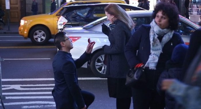 Marriage Proposal Ideas in Times Square New York City