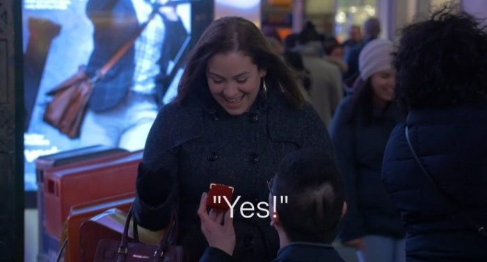 Engagement Proposal Ideas in Times Square New York City