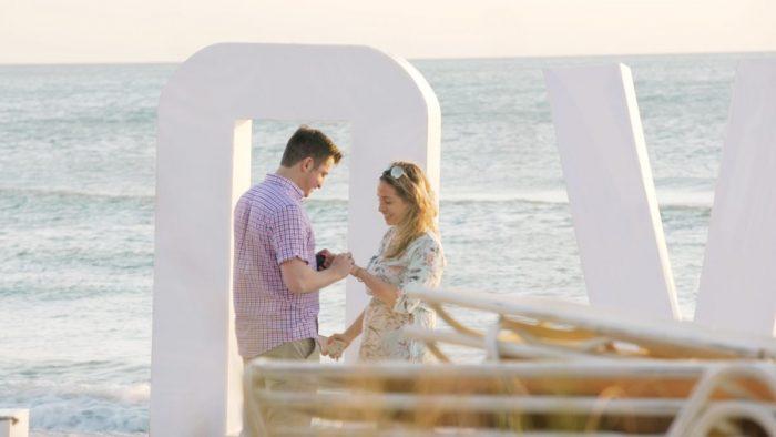Wedding Proposal Ideas in The Ritz Carlton Beach Club, Sarasota, FL