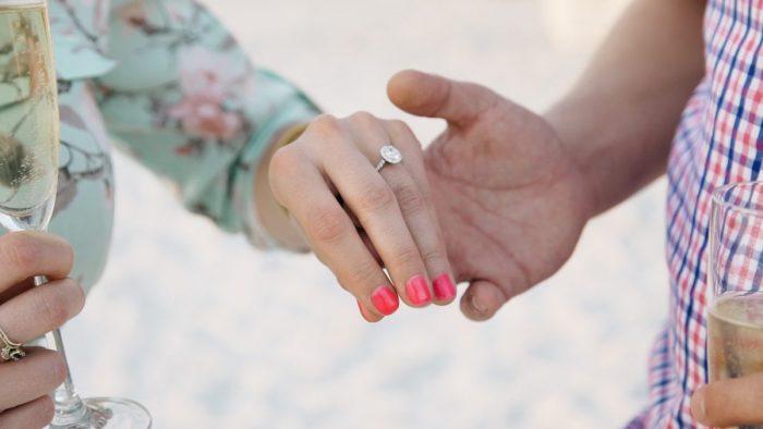 Marriage Proposal Ideas in The Ritz Carlton Beach Club, Sarasota, FL