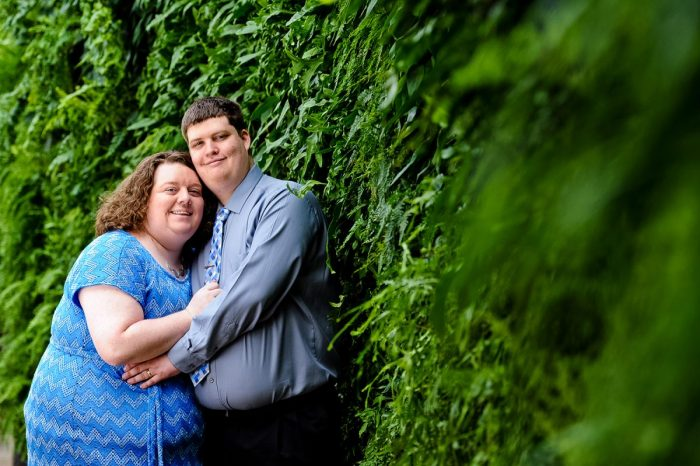 Tara and Jeffrey's Engagement in Longwood Gardens, Kennett Square, PA