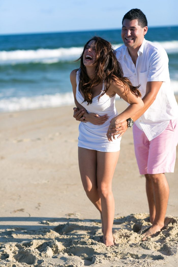 EmilyBurke and Ken's Engagement in Ocracoke Island