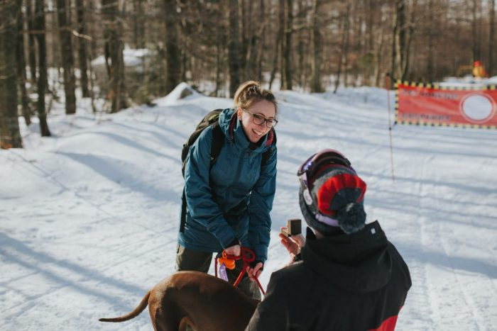 Engagement Proposal Ideas in Platak ski resort, Croatia