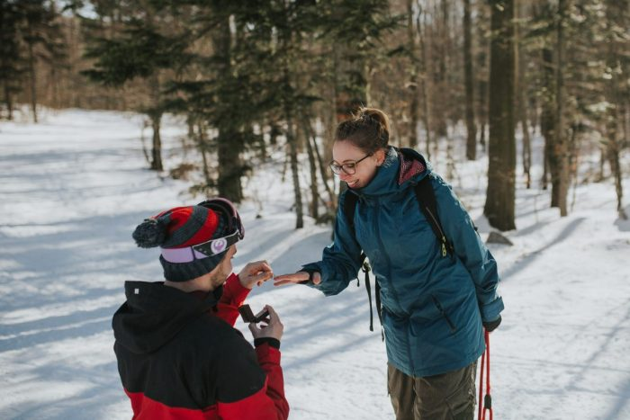 Where to Propose in Platak ski resort, Croatia