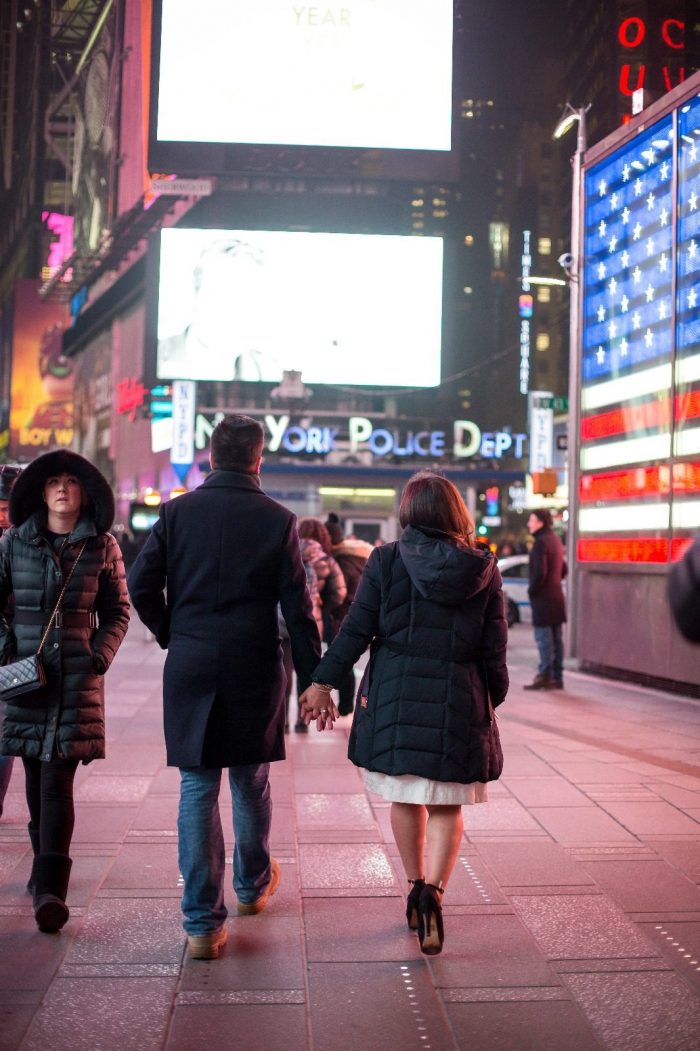 Wedding Proposal Ideas in Times Square