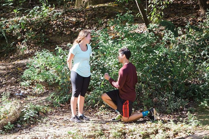 Marriage Proposal Ideas in Island Ford Chattahoochee River National Recreation Park