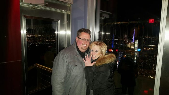Gillian's Proposal in Observation Deck of the Empire State Building