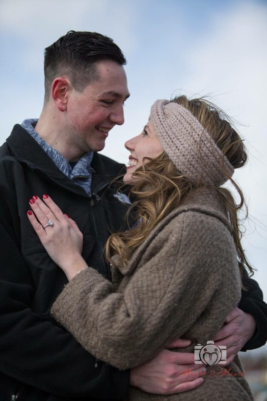 Danielle's Proposal in Northport Harbor, NY