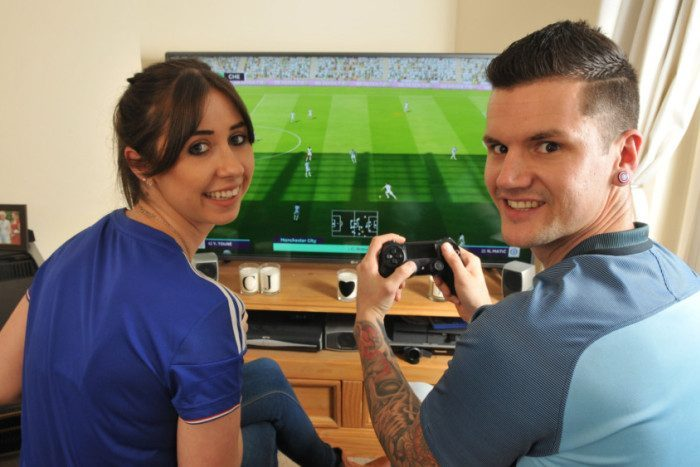 Joanne's Proposal in Manchester City Football Club