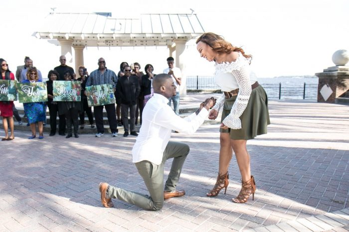 Maleah's Proposal in Stockon Park