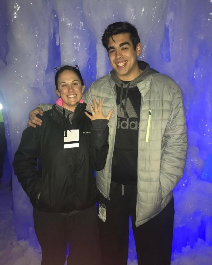 Marriage Proposal Ideas in New Hampshire's Ice Castles
