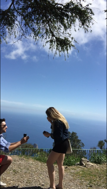 Juliana's Proposal in In Italy
