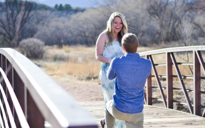 Marriage Proposal Ideas in Rock Ledge Ranch, Colorado Springs, CO