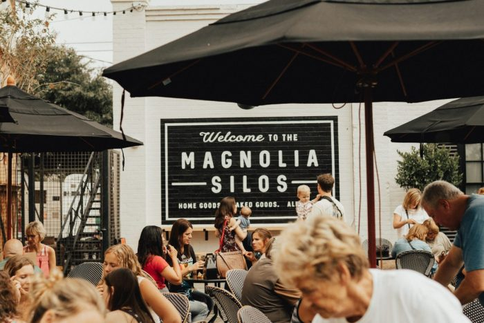 Megan and Alex's Engagement in Magnolia Market