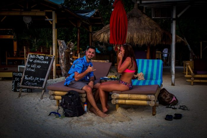 Alyssa and Anthony's Engagement in Gili Air, Indonesia