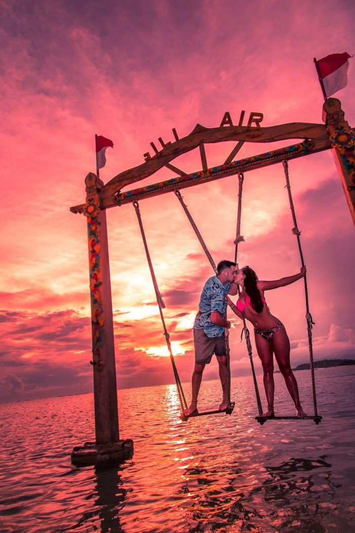 Marriage Proposal Ideas in Gili Air, Indonesia