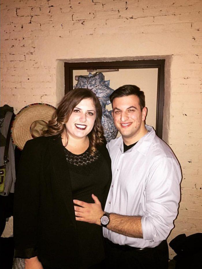 Emmalee Vander and Matt's Engagement in Lambeau Field