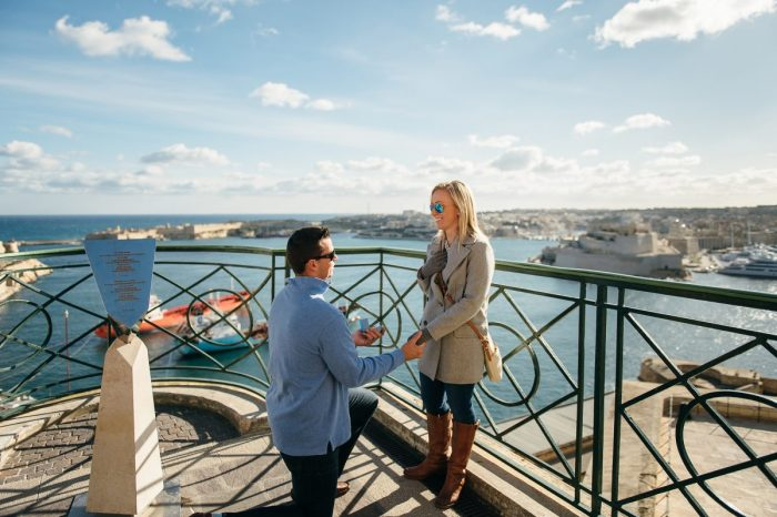 Marriage Proposal Ideas in Valletta, Malta