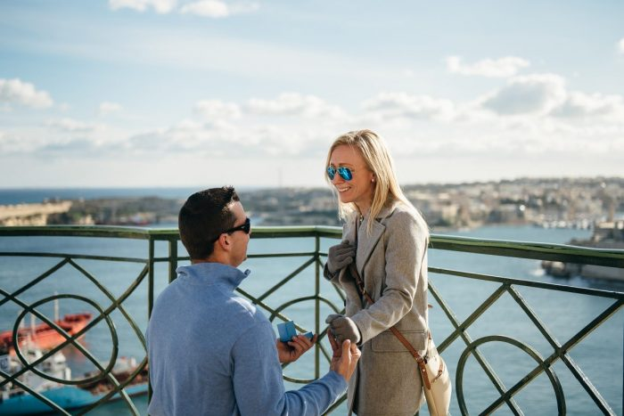 Wedding Proposal Ideas in Valletta, Malta