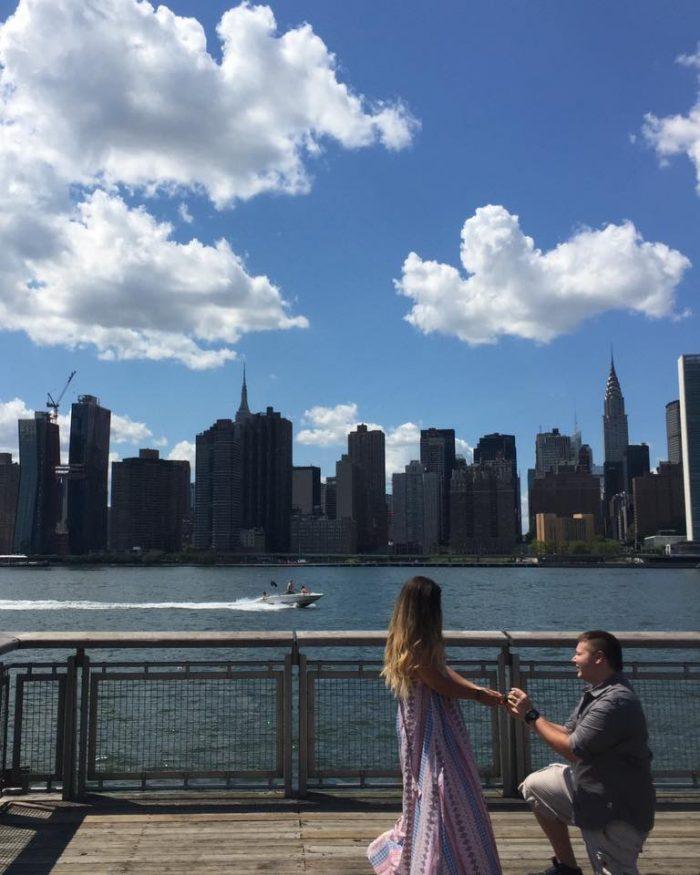 Taramarie's Proposal in Long Island City, NY