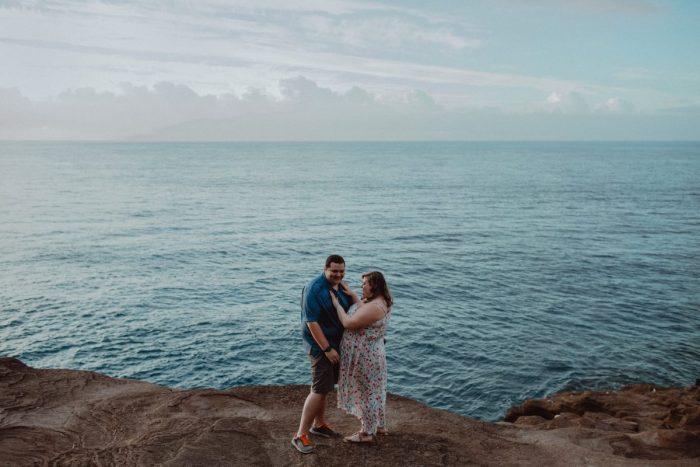 Ashley's Proposal in Spitting Caves, Honolulu, Hawaii