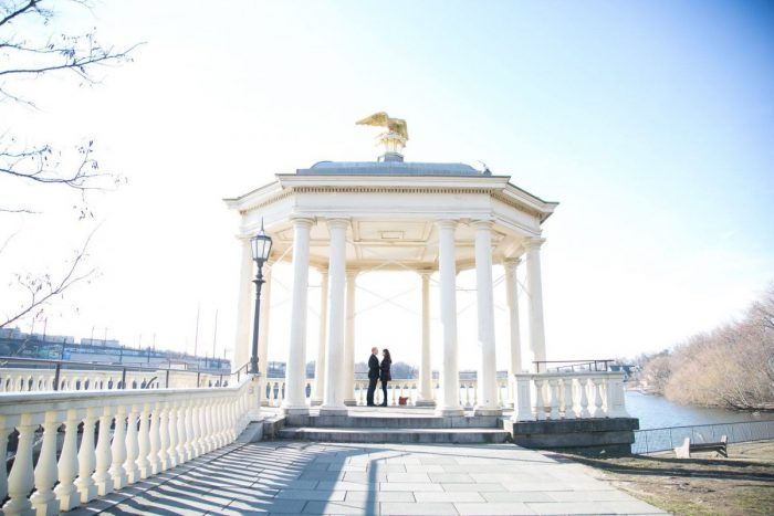Where to Propose in Waterworks, Philadelphia, PA