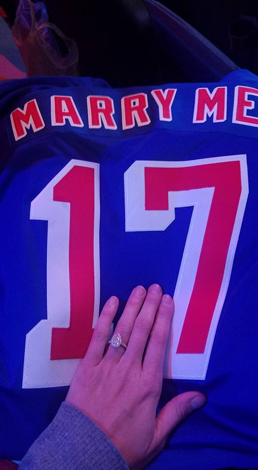 Wedding Proposal Ideas in Madison Square Garden