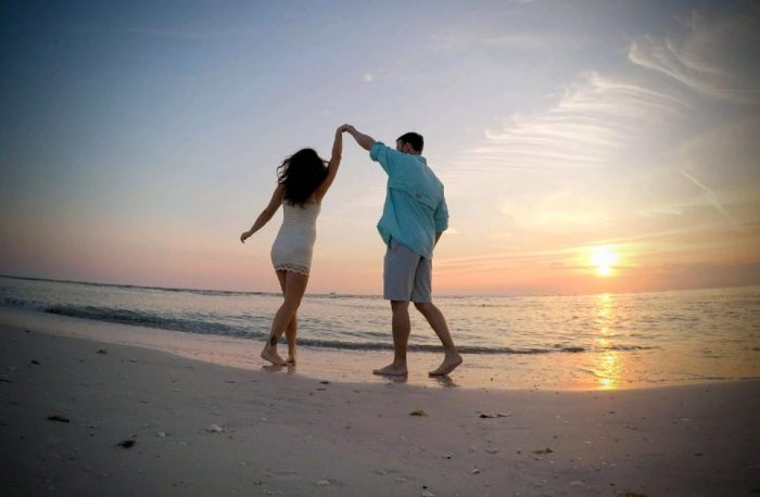 Proposal Ideas on the beach at the point of Lovers Key State Park, Estero, Florida.