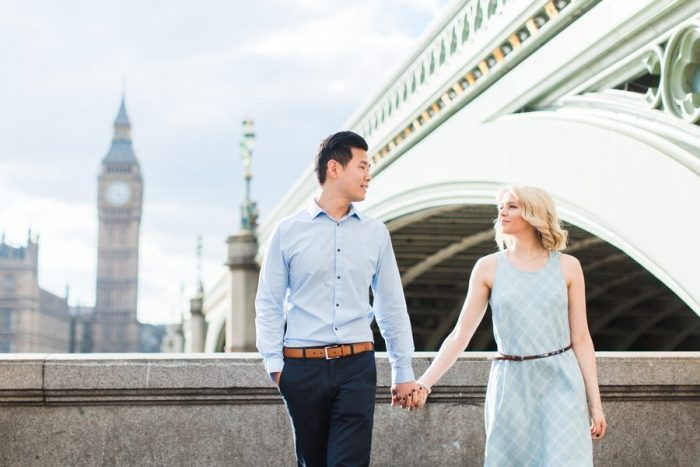Alex's Proposal in London, United Kingdom