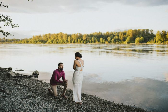 Engagement Proposal Ideas in Fort Langley, BC