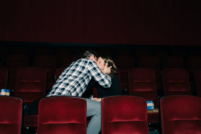 Proposal Ideas A movie theater Spencer had rented out in St Louis Park, MN