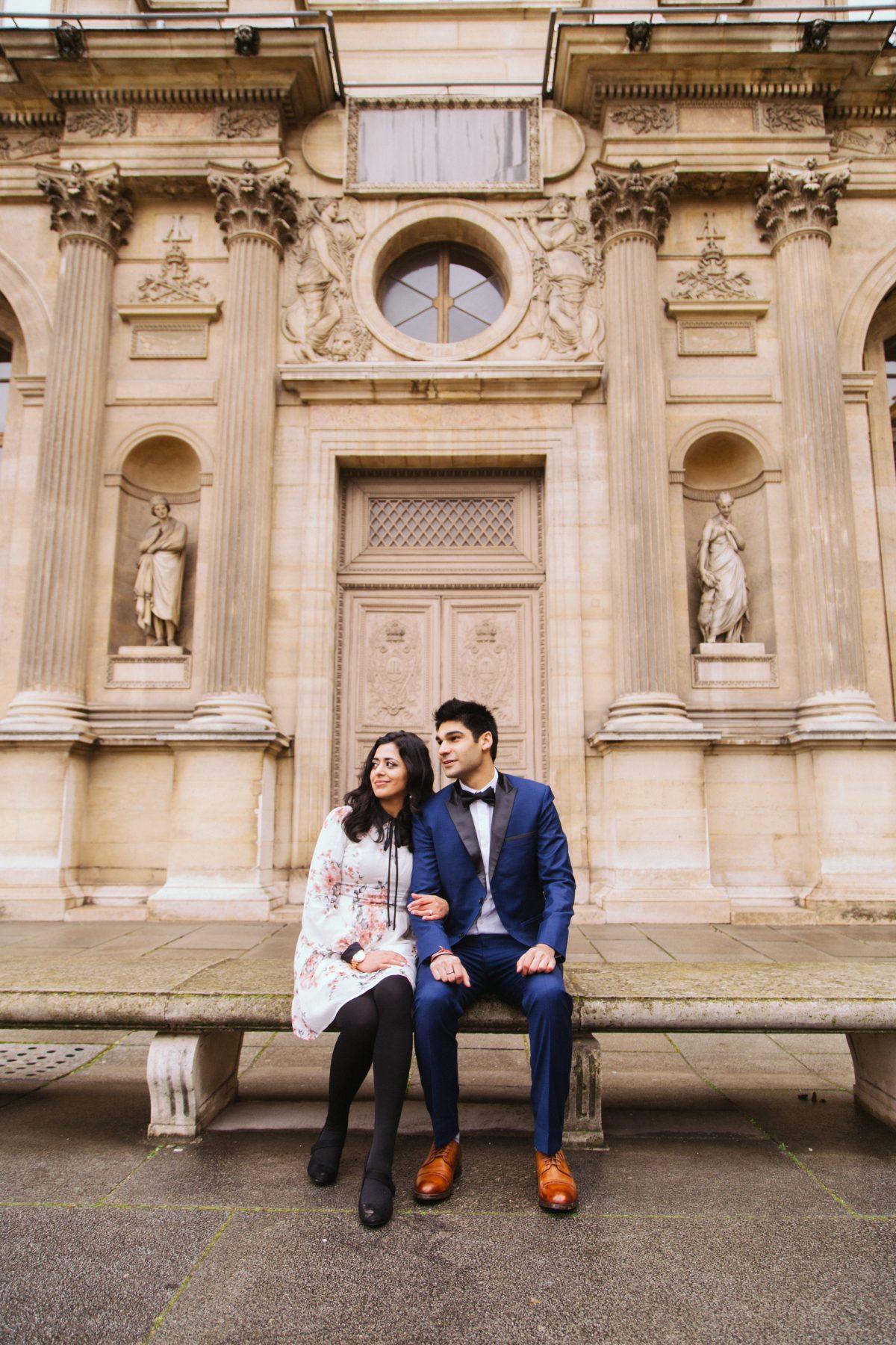Swati and Akshay's Engagement in Paris