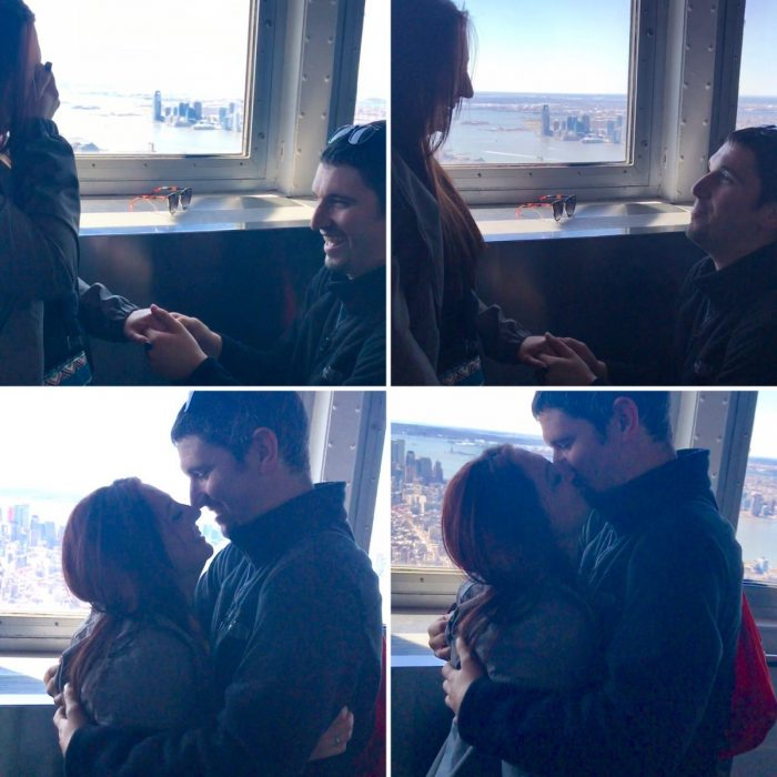 Engagement Proposal Ideas in 102nd floor of the Empire State Building