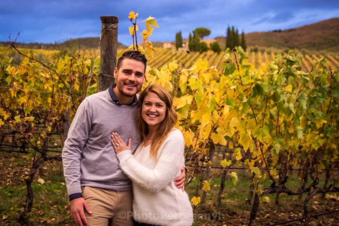 Engagement Proposal Ideas in Tuscany, Italy