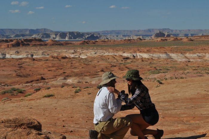 Where to Propose in Hanging Garden Trail, Page, AZ