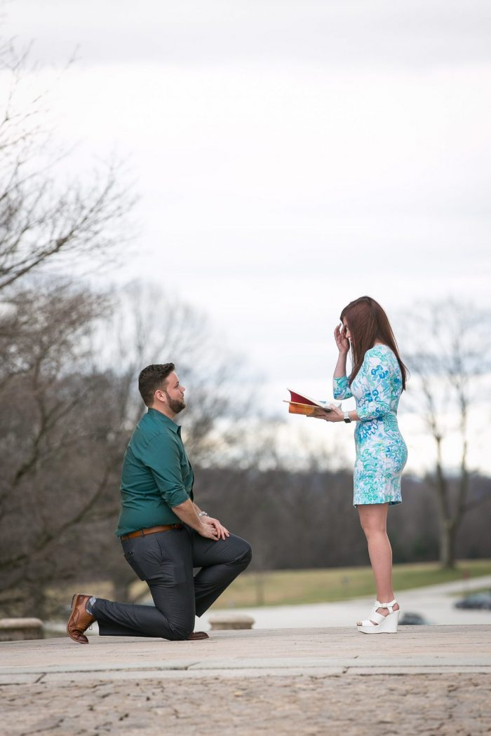 Marriage Proposal Ideas in Valley Forge National Park