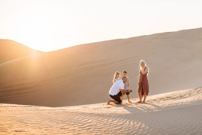 Masika's Proposal in Imperial Sand Dunes, California