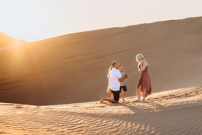 Wedding Proposal Ideas in Imperial Sand Dunes, California