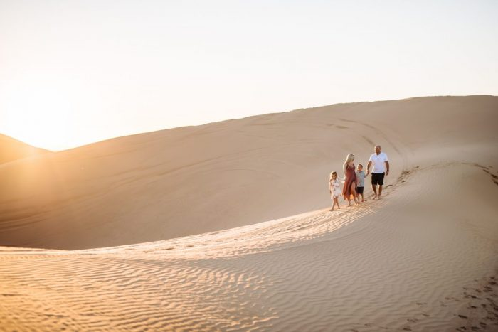 Engagement Proposal Ideas in Imperial Sand Dunes, California