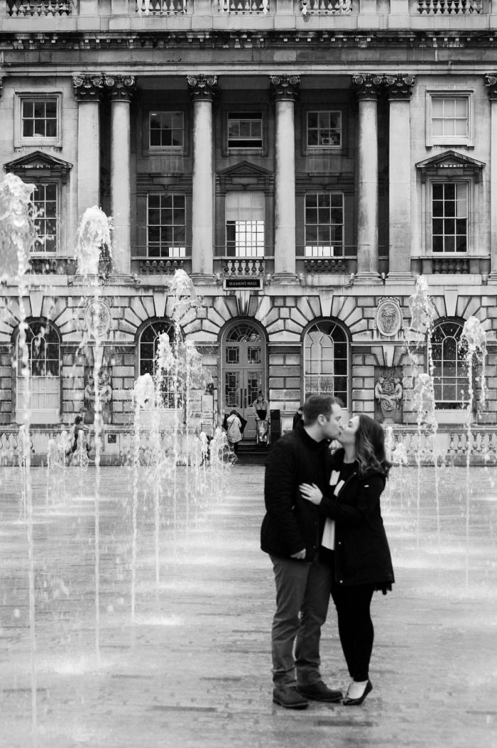 Where to Propose in Somerset House - London, England