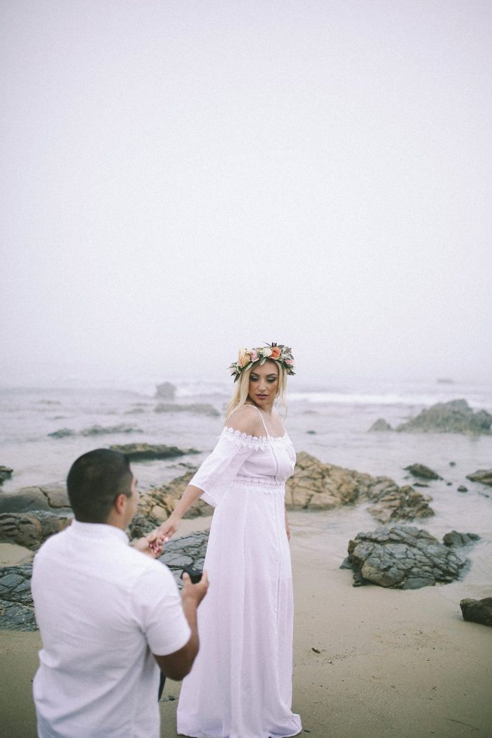 Where to Propose in Crystal Cove State Beach in Newport Beach, California