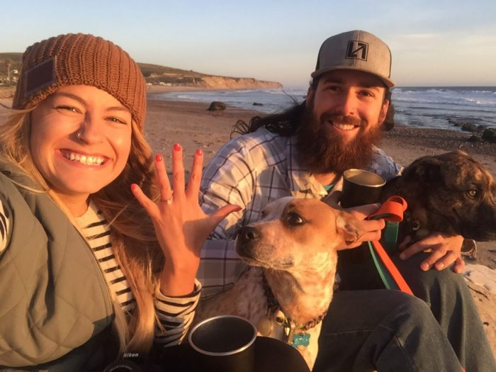 Engagement Proposal Ideas in Jalama Beach, California