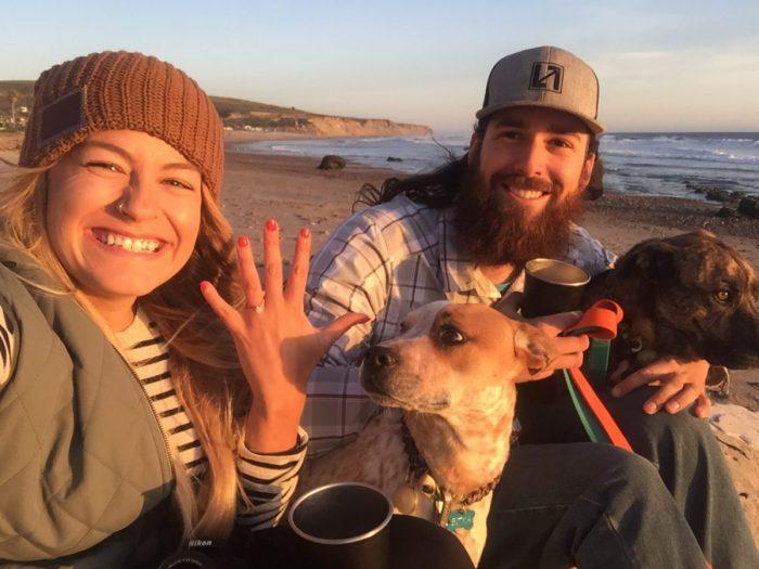 Engagement Proposal Ideas in Jalama Beach, California
