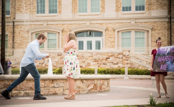 Marriage Proposal Ideas in Texas Christian University