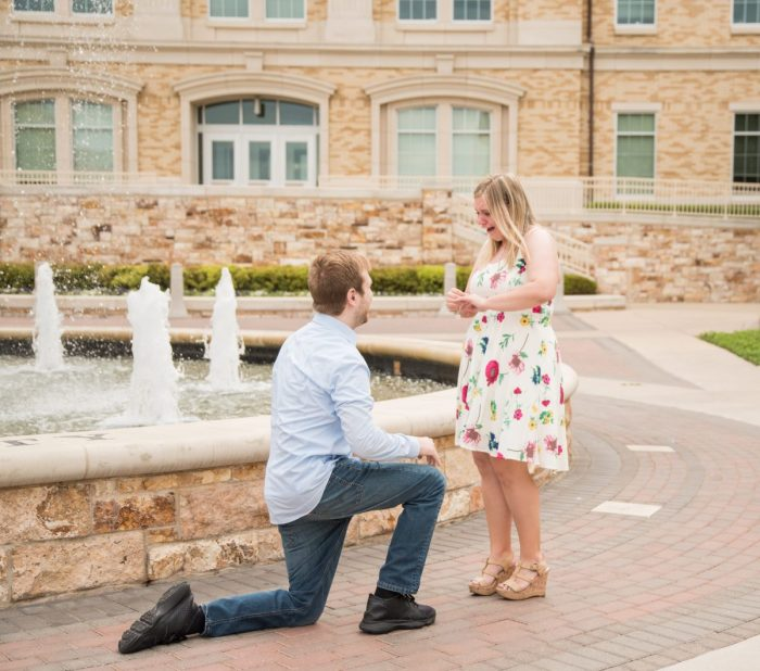 Wedding Proposal Ideas in Texas Christian University
