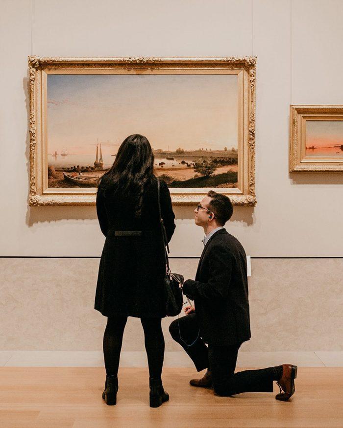 Marriage Proposal Ideas in The Metropolitan Museum Of Art, New York
