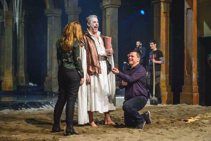 Wedding Proposal Ideas in Montenegrin National Theater