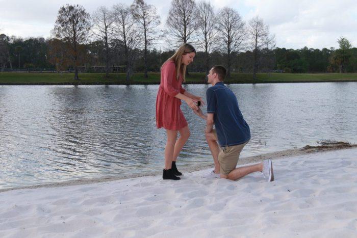 Aly's Proposal in Orlando, Florida